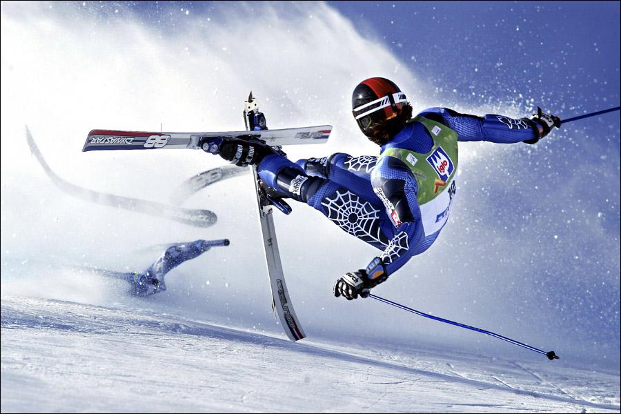 Sportfotograf Skidfotograf